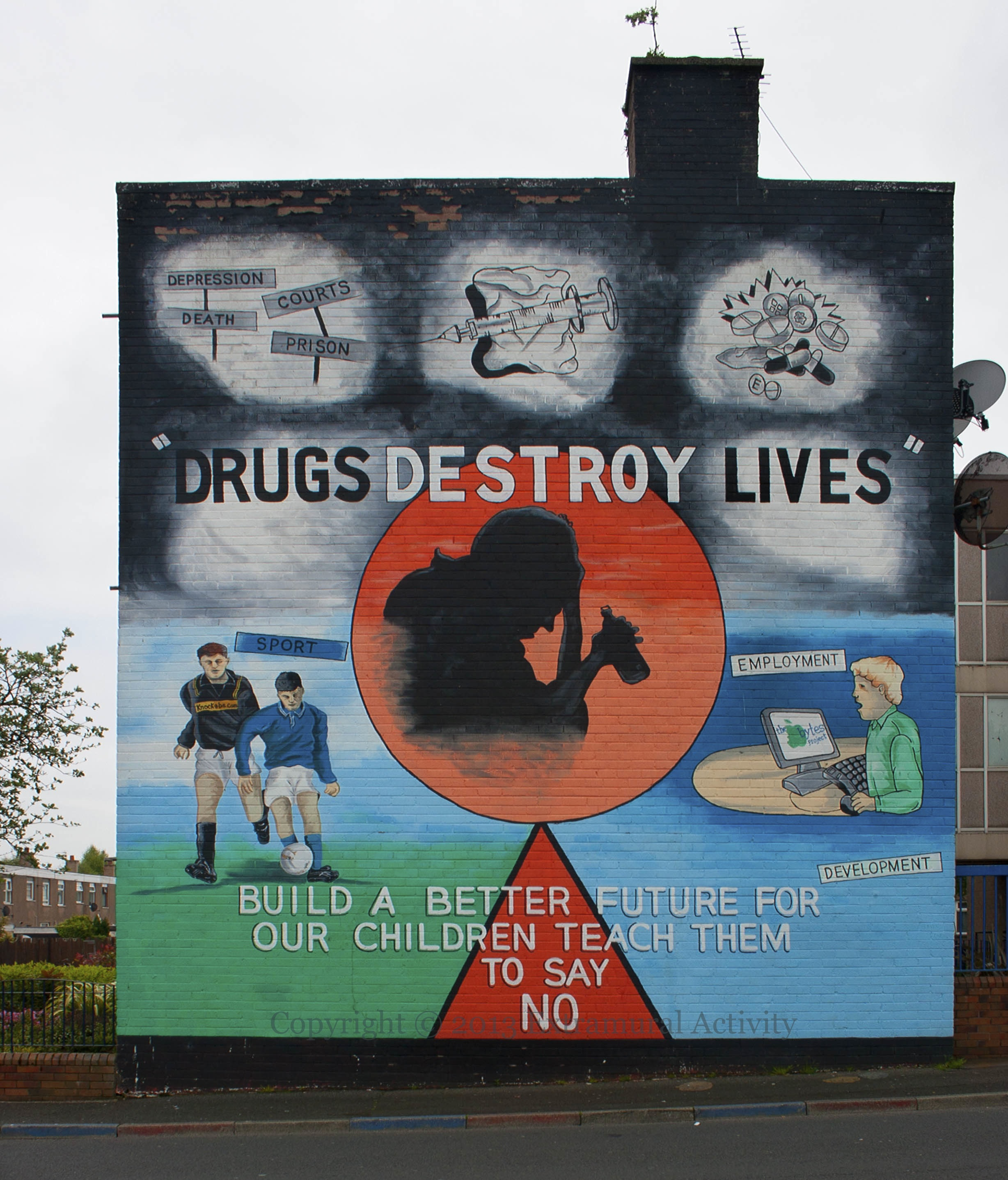 drugs destroy lives � extramural activity