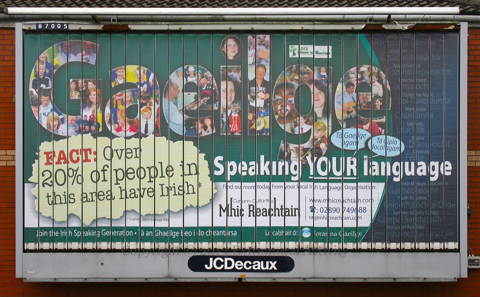Speaking your language extramural activity for Extra mural activity