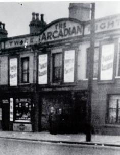 The Arcadian Cinema Albert Street.