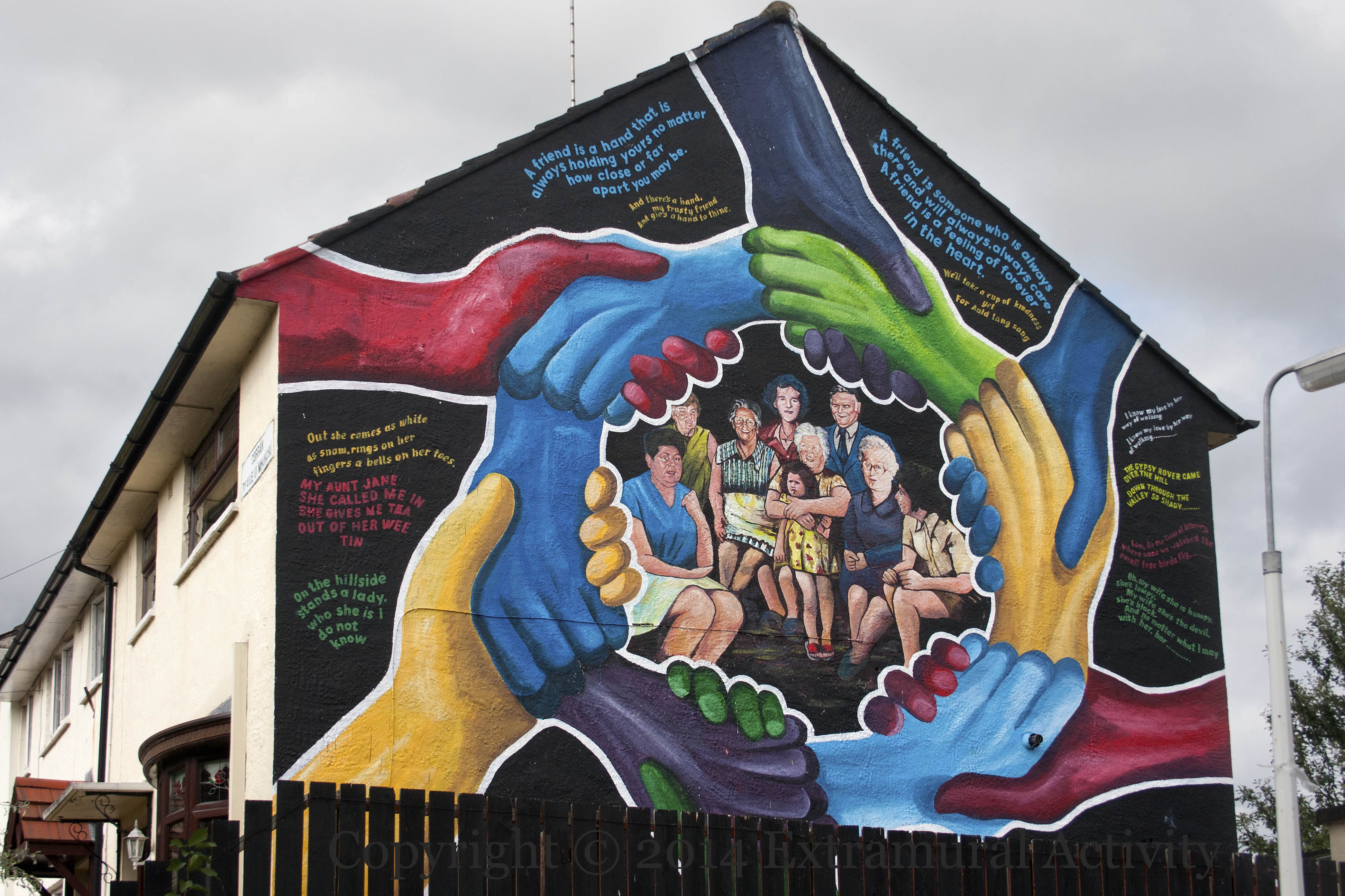 Ballymurphy extramural activity for Extra mural activity