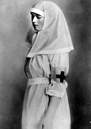Olga Nikoleavna Nurse 1915