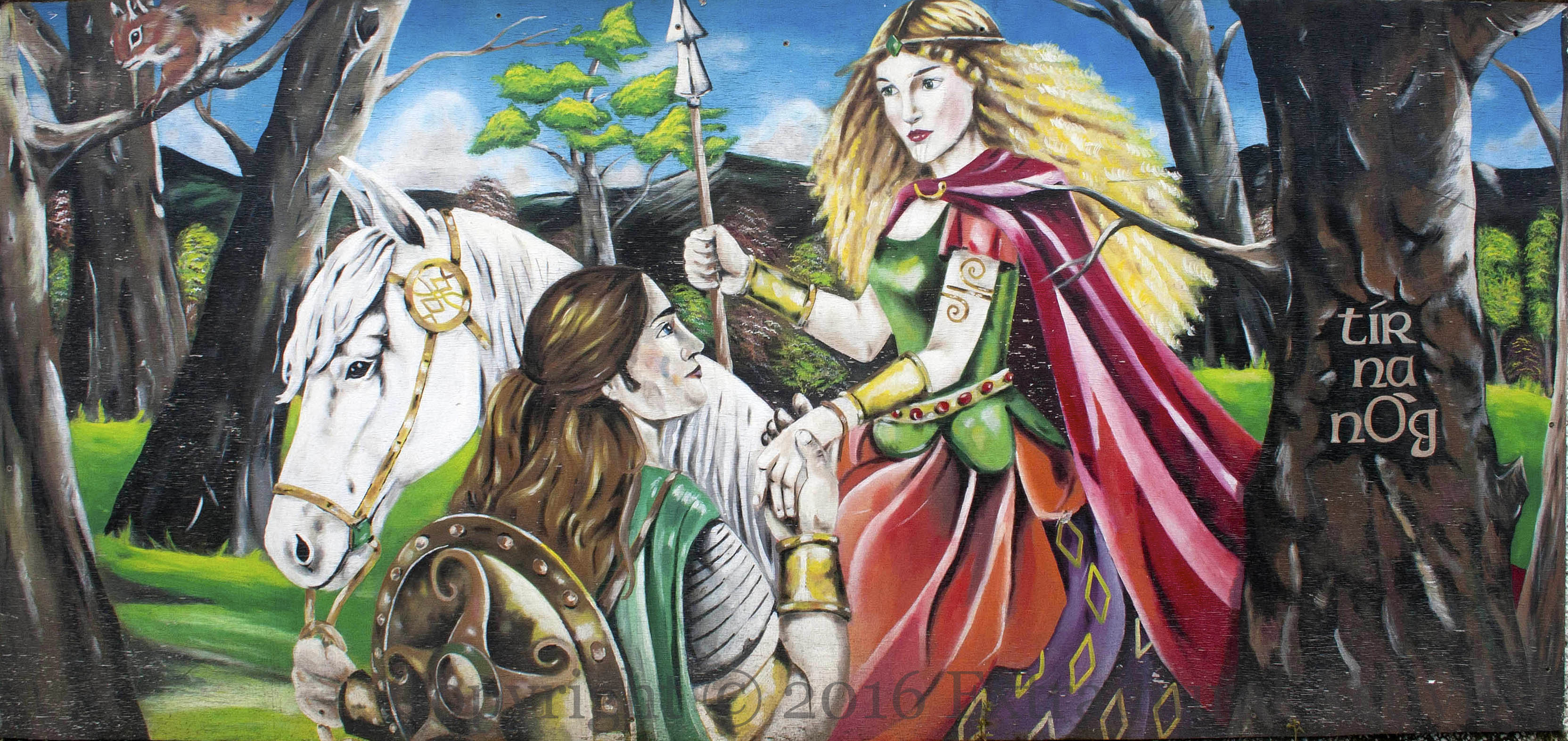 oisin i tir na nog The story of tir na nÓg and oisin and niamh there was once in ireland a band of brave heroes called the fianna, and it is known that the leader of the fianna, finn.