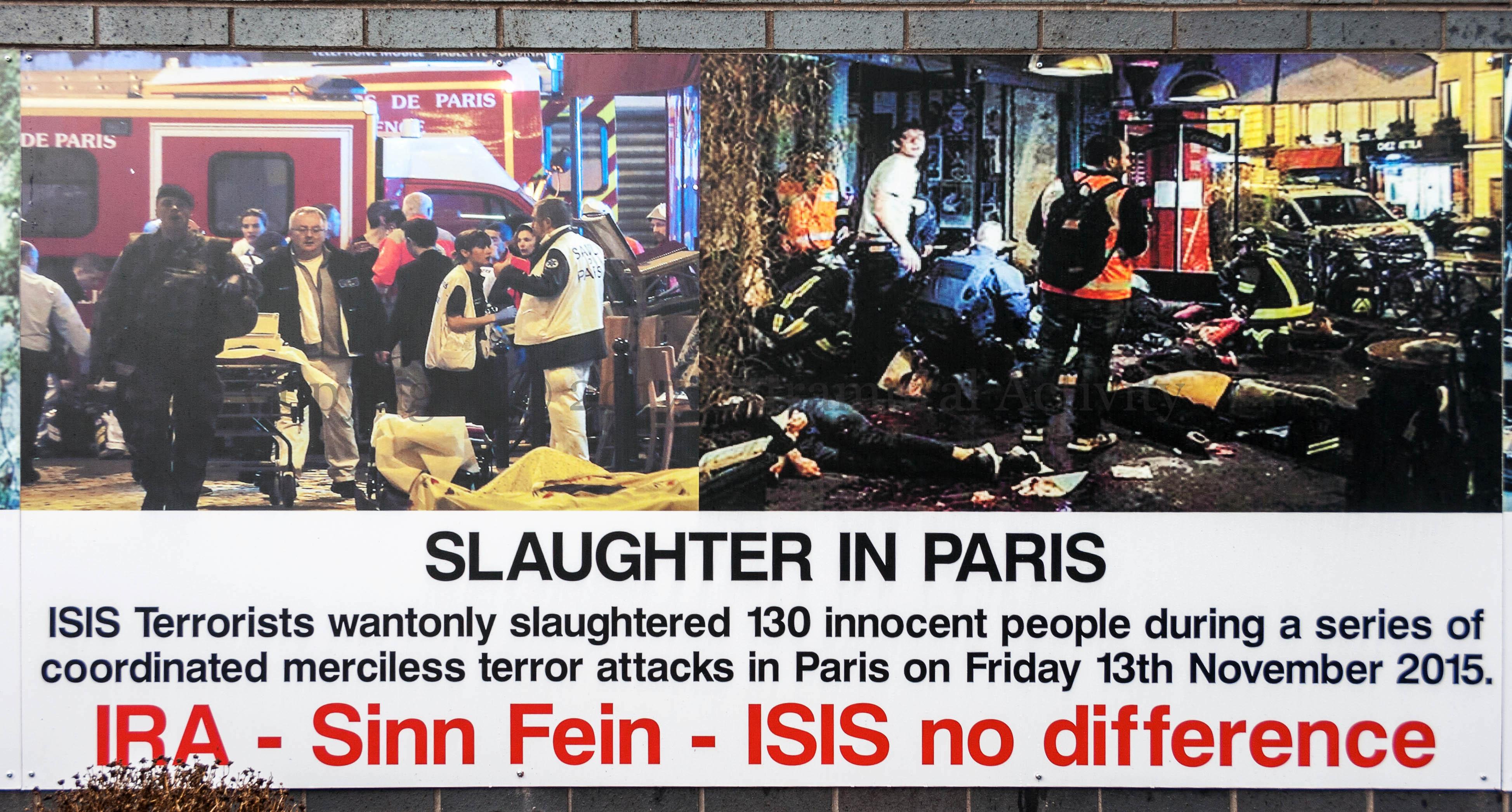 IRA – Sinn Fein – ISIS – Extramural Activity