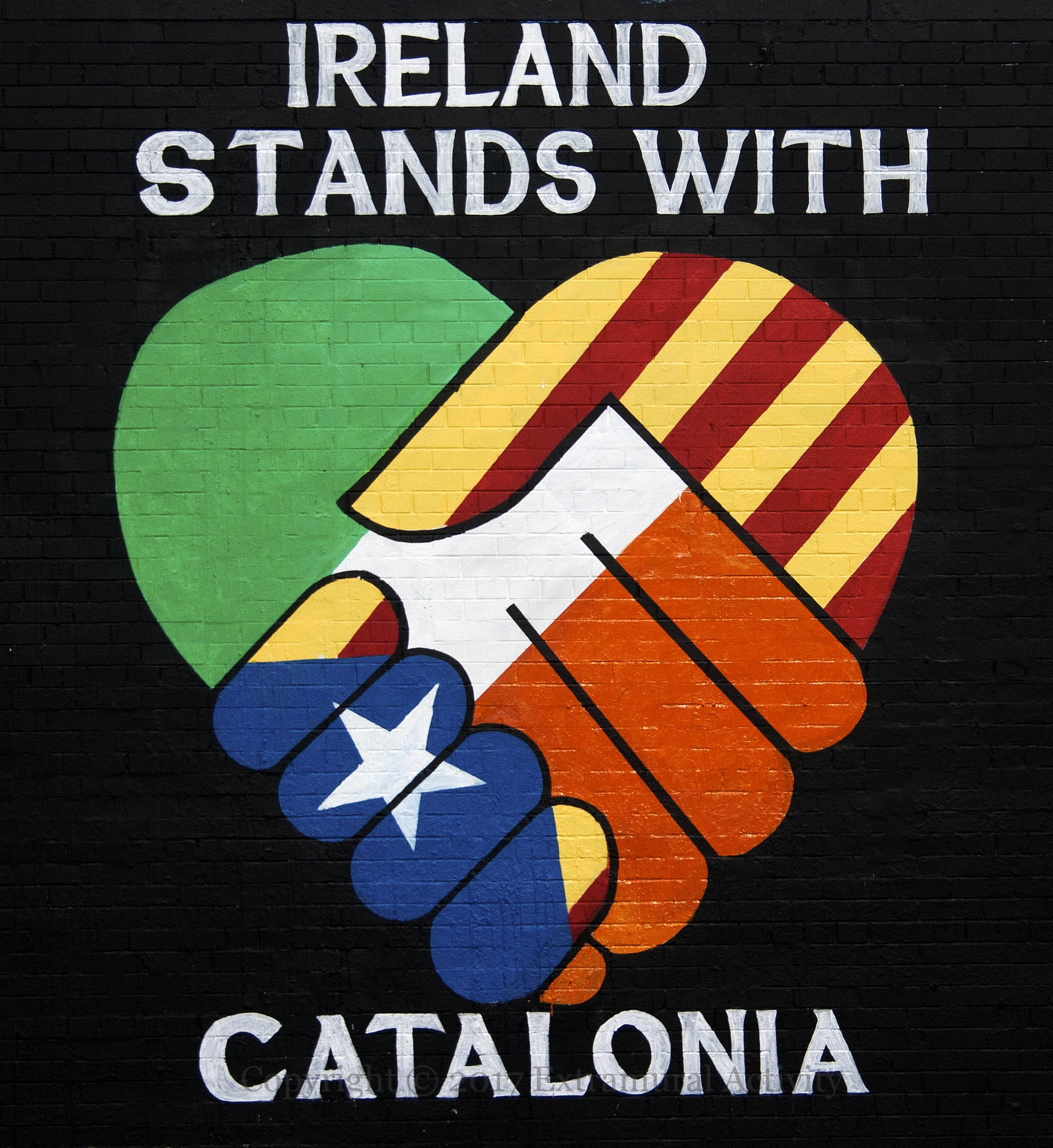 Ireland Stands With Catalonia Extramural Activity