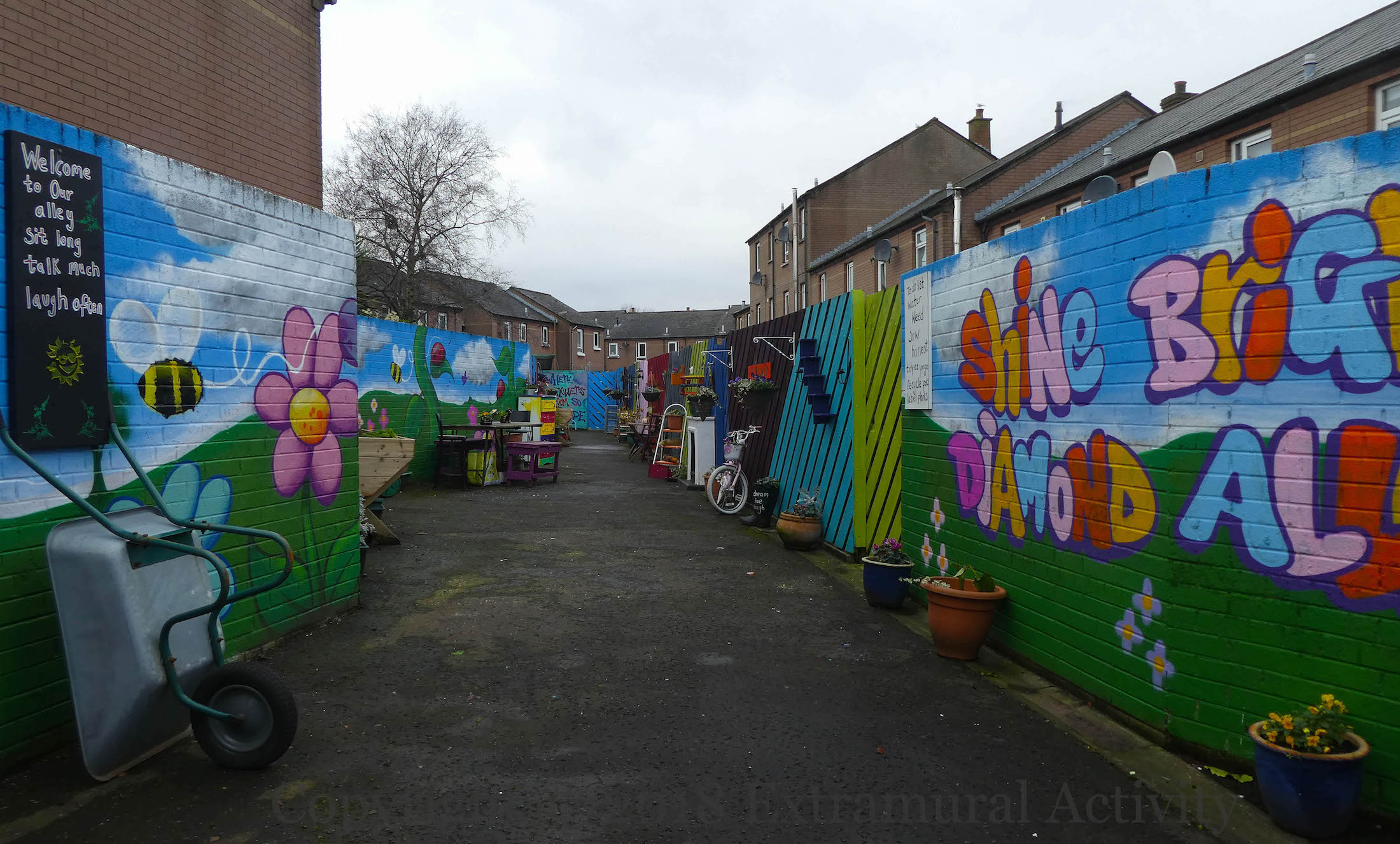 Shine bright diamond alley extramural activity for Extra mural activity