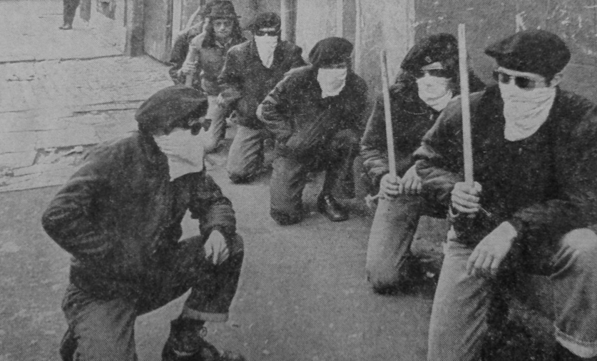 1972-05 Red Hand Action Group Beresford St